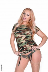 Sexual Lexi Belle in Army from Strippers  category