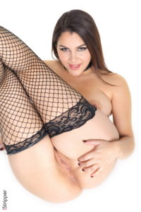 Valentina Nappi bondage show from Strippers  category